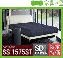 特価フレームウォーターベッドソフトサイド セミダブルサイズ(1バッグ)BODYTONE-SS1575ST