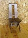 【家具工房直販】古材でつくった地松椅子