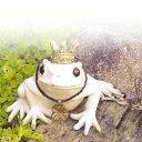 キシマ アンティーク調 ガーデンオーナメント カエル Sサイズ KH-60947 アンティーク 置き物 オブジェ オーナメント 動物 ガーデン雑貨 ガーデニング雑貨 【送料無料】