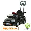 乗用玩具 スカイライン GT-R R34型 (押手付ペダルカー)対象年齢1.5-4歳 R-34H ブラック 乗用玩具 車 自動車 こども 子供 くるま クリスマス 誕生日 乗り物 のりもの ミズタニ 【送料無料】