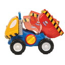 ダンプカーのダッドリー(対象年齢18か月から) TYWT10190 赤ちゃん ベビー おもちゃ キッズ はたらくくるま ダンプカー 男の子 ごっこ遊び 知育玩具 学習玩具 玩具 誕生日 プレゼント クリスマス WOW Toys 【送料無料】 1104P