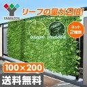グリーンフェンス リーフラティス(約100×200cm)ダブ...