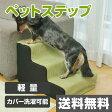 ペットステップ YZP-003S(GR) グリーン ペット用ステップ ペット用階段 ペット用品 犬 【送料無料】 山善/YAMAZEN/ヤマゼン