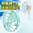 快風!強マリーナ YA-U28(BL) 扇風機 アタッチメント つよまりーな 強まりーな サーキュレーター 【送料無料】 山善/YAMAZEN/ヤマゼン