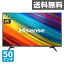 �ϥ�������ѥ�(Hisense) �ڥ�����ݾ�3ǯ�� 50V�� 4K�б� �վ��ƥ�ӳ��դ�HDDϿ���б� ����Ͽ���б� HJ50N3000 BS 110��CS �Ͼ�ǥ����� �ϥǥ� 50V �վ��ƥ�� �ƥ�� �վ�TV USB HDD ���� ������̵����