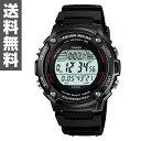 カシオ(CASIO) SPORTS GEAR(スポーツギア) 腕時計 W-S200H-1BJF 【送料無料】