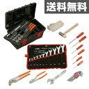 スーパーツール プロ用標準工具セット 12.7sq S6500N ブラック 自動車工具セット 農機工具セット 整備工具セット 【送料無料】