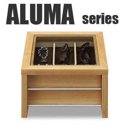 MED-2995-T5507 ウオッチケース2段(引出) ALUMA  アルマ お気に入りの時計やアクセサリーに