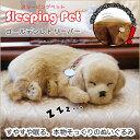 Sleeping Pet ゴールデンレトリーバー スリーピングペット 癒しの犬のぬいぐるみ スヤスヤ眠る子犬の置物 ワンちゃんの置き物 おもちゃホビープレゼント ドッグオブジェ perfect pet渡辺美奈代セレクト