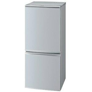 【中型】SJ-D14B-S シャープ 冷蔵庫 137L つけかえどっちもドア SJD14B【楽天あんしん延長保証対象】【kk9n0d18p】★