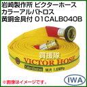 岩崎製作所 ビクターホース カラーアルバトロス 黄銅金具付 01CALB040B 【45624997884