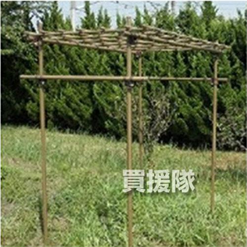 《法人限定》積水樹脂フルーツパーゴラMサイズ家庭菜園ネット棚キット園芸支柱用品園芸ネット野菜作り積水