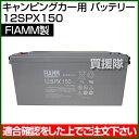 FIAMM キャンピングカー用 バッテリー 12SPX150 【バッテリー 交換品 オプション 替え】【おしゃれ おすすめ】[CB99]