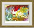 【送料無料】絵画■シャガール■クロエの誘拐■選べる額縁■額装込■名画■有名絵画■壁掛け■アート■プレゼント贈答品におすすめ