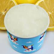 カップアイスジェラート フレッシュレモンのシャーベット ほかでは味わえない超酸っぱいこのレモン味は忘れられないでしょう 魁ジェラートアイスクリーム