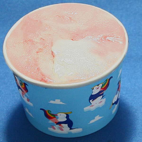 カップアイスジェラート いちごミルク 苺とミルクのおいしいコラボレーションはアイスの定番です 魁ジェラートアイスクリーム
