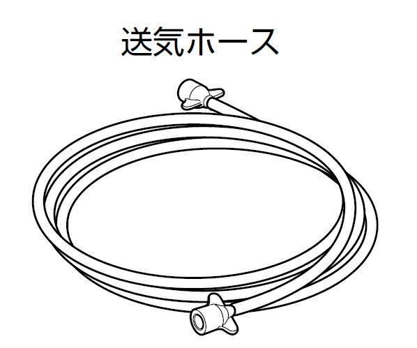 <メール便2個まで可能>オムロン ネブライザ 専用 送気ホース NE-C28-6 (NE-C29・C28専用)