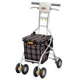 【高齢者用】【歩行器】【歩行車】出来るだけコンパクトで外出時の歩行や買い物の運搬をラクにしたい方に。【】【シルバーカー】アロン化成サンフィール(ショッピング)【親孝行】【高齢者用・