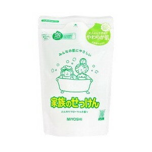 MIYOSHI SOAP家族的肥皂泡的沐浴露詰替550ML(4537130102190)(洗浴用品、沐浴露·美體保養)