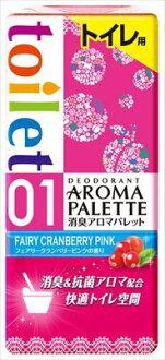 地球醫學除臭芳香調色板廁所仙女小紅莓粉紅的香水 400 毫升 (4901080638618)