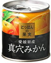 KK にっぽんの果実 愛媛県産 真穴みかん 缶詰 (4901592905109)