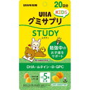 【5500円(税込)以上で送料無料】UHA味覚糖 UHAグミサプリKIDS STUDY 20日分 100粒入