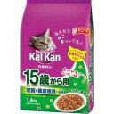 【送料無料】カルカンドライ 15歳から用 かつおと野菜味 1.6kg×6個セット