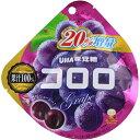 【5500円(税込)以上で送料無料】UHA味覚糖 コロロ < グレープ > 48g×6個セット