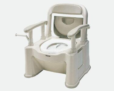 【送料無料】ポータブルトイレ 座楽 背もたれ型SP 標準(期間限定価格)メーカー:パナソニック Panasonic VALSPTSPBE あす楽