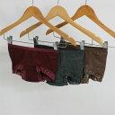 【婦人30cc】【ローライズ】日本製女性用 失禁パンツ/ヒップハンガーショーツ【32045】マチ部分3重構造