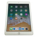 【中古】 au版 iPad (6th Generation) Wi-Fi+Cellular 32GB シルバー MR6P2J/A 【利用制限:▲】【iOS 11.3】【タブレットPC】【山城店】