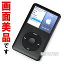 ★動作良好!画面美品です! Apple iPod Classic 80GB ブラック 第6世代 MB147J/A 【中古】【8K829XNDYMV】【ポータブル...