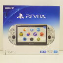 【中古未使用】SONY PS VITA PlayStation Vita Wi-Fiモデル シルバー [PCH-2000ZA25]【送料無料】【橿原店】【H】