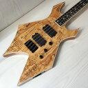 【新品/展示品特価】B.C.Rich/Paolo Gregoletto 4 String Warlock Bass/ビー シー リッチ/パオロ グレゴレット/ワーロック/スルーネッ..