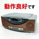 ★カセットテープも使えます!動作良好です! SHARP 1ビット MD/CD/カセット対応 ラジカセ SD-FX200-D オレンジ【中古】【セットコンポ】【デジタル家電】【オーディオ機器】【山城店】