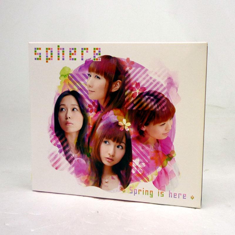 中古《限定生産盤》スフィアSpringishere/声優CD+DVDCD部門山城店