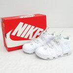 NIKE ナイキ AIR MORE UP TEMPO `96 エアモア アップテンポ 921948-100/サイズ:24.5cm/カラー:WHITE/靴 シューズ