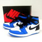NIKE AIR JORDAN 1 HIGH THE RETURN/ナイキエアジョーダン/768861-106/28cm/色:白・黒・青/1.5/復刻/靴 シューズ