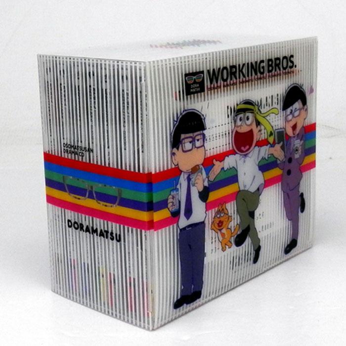 中古《帯付》ドラマCD「おそ松さん」6つ子のお仕事体験ドラ松CDシリーズ全7巻セット/アニメ・声優C