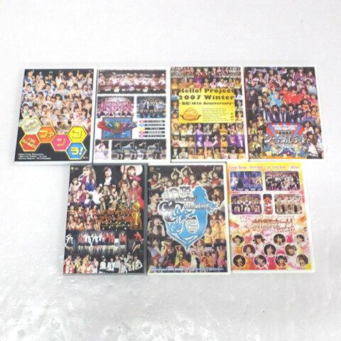 【中古】Hello! Project DVD 7枚セット/女性アイドルDVD【CD部門】【山城店】