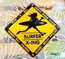 ○o。【新作入荷!!】SURF-N-SEA(サーフアンドシー)標識型看板(大)*SURFER X-ING*ノースショアで人気のサーフショップ♪ハワイ大人気ブランド【ハワイアン雑貨】【ハワイアン小物】*ハワイ直輸入*ハワイ雑貨*。o○