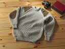 【英国製】パークレインジャーセーター英国羊毛セーター 英国産ウール 英国羊毛公社全国送料無料 (rs1)