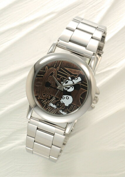 ミッキー時計誕生77周年企画 ミッキー夢箱(特典z1a)腕時計+オルゴール+ストラップ付