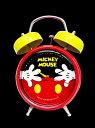 ミッキーフアンタジー音声目覚まし時計ウォルトディズニー ミニー ミッキーマウス置時計 目覚し時計【smtb-k】