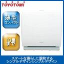 トヨトミ 空気清浄機 ホワイト AC-V20D【空気清浄機 空気清浄器 花粉 オススメ 綺麗な空気】