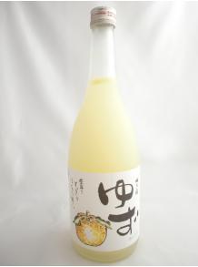 【梅乃宿酒造】梅乃宿 ゆず酒 720ml 8度