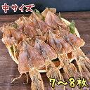 【中サイズ】 北海道産 スルメイカ 280g 7〜8枚入 ゲ...