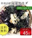 海藻サラダ45g(乾燥タイプ) 送料無料 ぽっきり 無添加食...