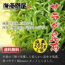 【送料無料】三陸産「サラダ昆布」200g×2袋(まとめ買い) 無添加食品 サラダ ダイエット