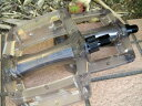 Z-PLUS クリア樹脂ペダル1ピース用/プラスチックペダル/1ピース用ペダル
